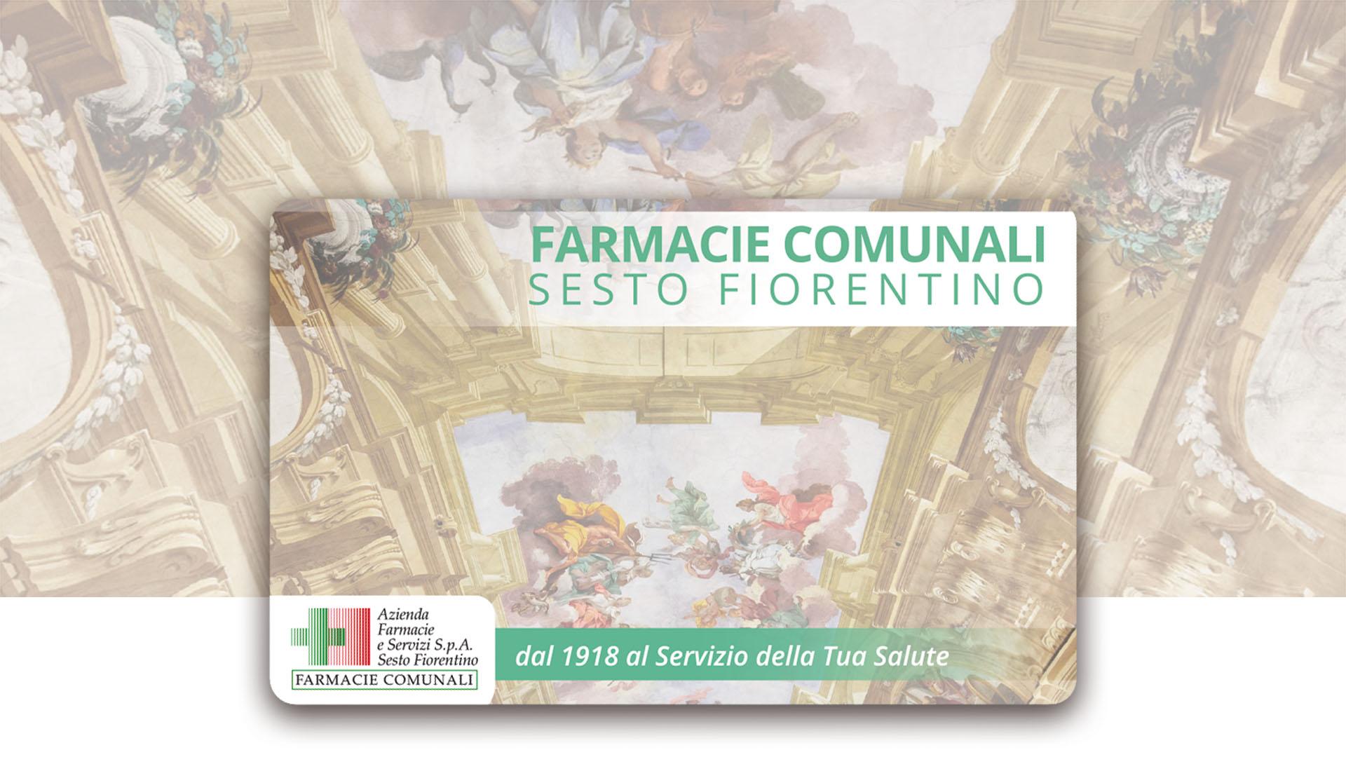 Arriva la Carta fedeltà delle Farmacie comunali di Sesto Fiorentino